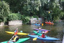 Séance d'entraînement au club / Initiation et perfectionnement en canoë-kayak