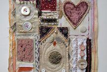 fabric mixed media