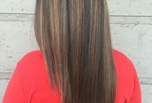 Brunettes / Hair colors that incorporate the brunette family