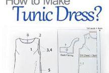 tunic dress sewing pattern free.