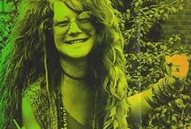 "JaNiS / ""When I'm there, I'm not here,"" Janis said later. ""I can't talk about my singing; I'm inside it. How can you describe something you're inside of?"" / by Marsha Rolens"