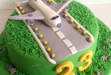 Aviation cakes