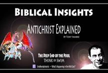 Biblical Insights / Biblical Insights is a short bible study, on scriptures that have been mis taught in the traditional church. Join Tony Smario as he explores the scriptures in a non traditional view.