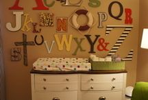 Baby Room Ideas / by Sharon Rose Berger