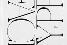 Typefaces & letterings