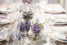 svatební dekorace,stůl