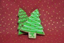 Natal 2014 / Biscoitos decorados com tema natalino