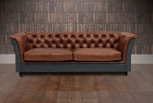 Vintage Leather Sofas - Topsham