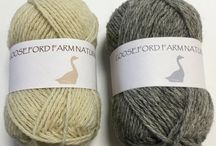 Pure new Wool / Pure New Wool from our own pedigree Shropshire Sheep
