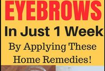 Home remedies for eyebrows