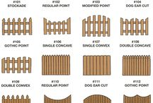 WOODEN FENCE IDEA