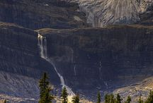 Banff Canada - Glacier & Waterfall