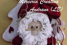 Natale / CORSI IL GIOVEDÌ POMERIGGIO...  ABBIAMO TUTTI I KIT PER REALIZZARLI