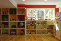 School and toy storage