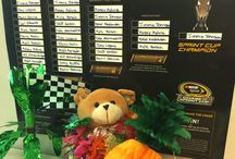 The Adventures of Speedy Bear / Speedy bears are gifts to our Speedtiatrics' kids recovering in the hospital. The Speediatrics environment provides a much-needed diversion to young patients undergoing intensive treatments, taking away the intimidation factor that often comes with the environment of some hospitals. Speediatrics provides the colorful thrills of an auto racing environment, making hospital stays more comfortable for young patients. / by The NASCAR Foundation