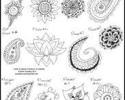 Art & Doodles - Paisley & Henna