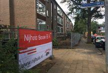 Hilversum, Dasselaar / Nieuwbouw, verankering van balkons en galerijen