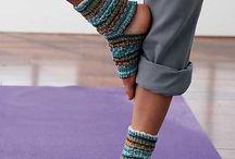 sock, knitting yoga