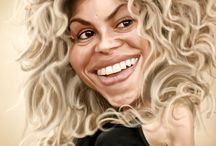 CARICATURES....:~} / by Marilyn Maltezo