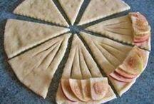 Rotoli di pasta sfoglia