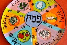 Hanukkah and passover pottery painting ideas