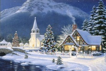 Artist - Thomas Kinkade / by Carolyn Mckinnon