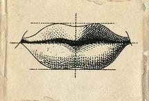 dudak çizimleri