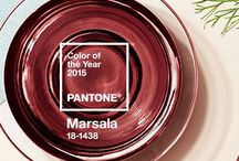 color of the year 2015 / And the color of the year is...Pantone Marsala 18-1438