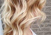 golden blonde belayage