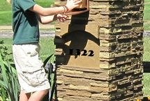Design Ideas - Mailboxes / Who says your mailbox needs to be boring? Spruce it up with our panels!  / by Faux Panels.com