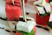 Wassermelone mit Feta