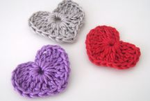 Corações De Croché