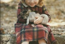 mooie kinderen met een dier