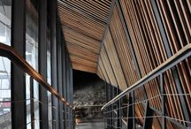 Arquitetura - passarelas/corredores