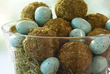 Natural Easter Decorations / Natural Spring / Easter Ornaments and Decorations
