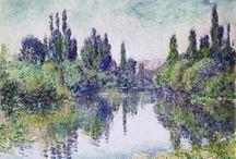 Kunst französisch, insbesonders Impressionismus / Monet Manet Renoir Degas Caillebotte Cezanne Morisot Bazille Guillaumin Pissarro  Gaugin Vuillard Matisse Van Gogh Sisley Seurrat Signac