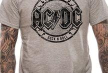 Camisetas de AC/DC