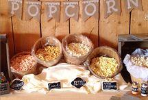 Popcorn bar - we do that too!