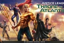 Throne of Atlantis / After their victory over the forces of Darkseid, the heroes of the Justice League face an all new threat – and finds a new ally – in Justice League: Throne of Atlantis, the newest DC Universe Original Movie, available Jan. 27, 2015. / by DC Comics