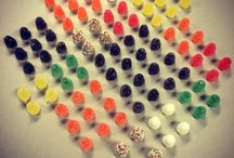 Candy, Color and Arrangements / My artworks with candy, colors and arrangements