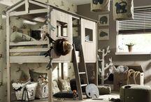 Slaapkamer sem / Jungle jongens slaapkamer