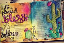 Bible Journaling - Numbers