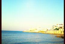 the sea the sun