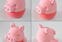 foam clay schweinchen
