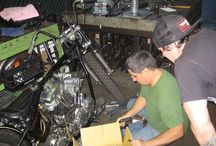 Motorsykkel bygge