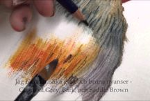 ART : Derwent Inktense