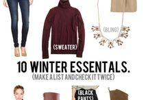 Winter Essentials / by Yvette Acosta