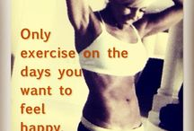 Fitness  / by Sarah Sanborn Nielson