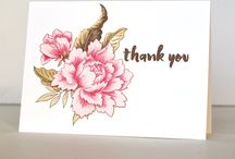 Cards handmade thank you