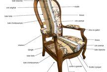 #Fauteuil réalisé en traditionnelle / Que ce cache-t-il sous votre fauteuil? Quelles sont les étapes de réalisation d'un #fauteuil avec une technique #traditionnelle?